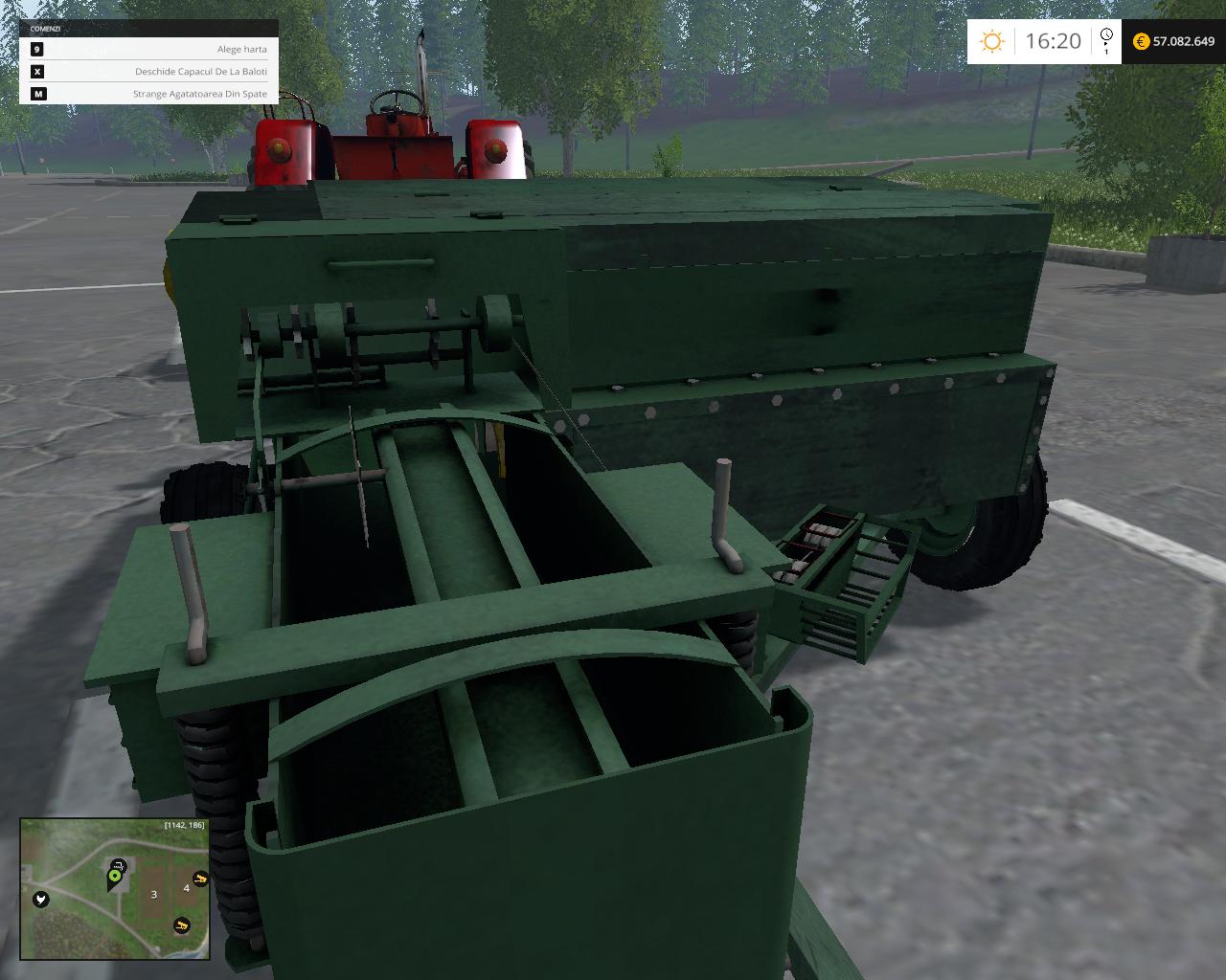 Baller- Balotiera Romaneasca - Farming simulator modification