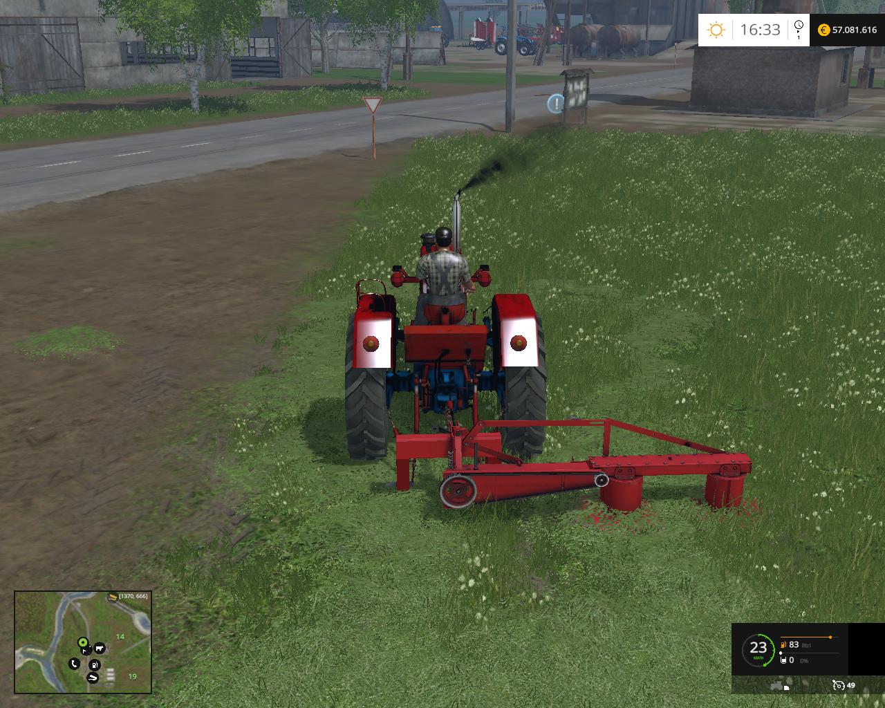 Cutter-Cositoare Rotativa - Farming simulator modification