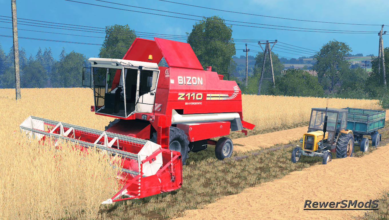 Bizon BS Z110 - Farming simulator modification - FarmingMod com