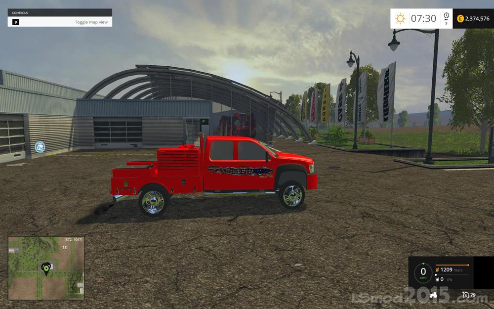GMC Wielding Rig Truck v4 - Farming simulator modification
