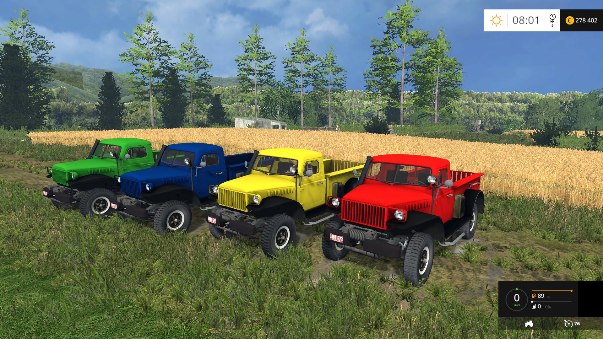 Dodge Powerwagon V 1 0 - Farming simulator modification - FarmingMod com