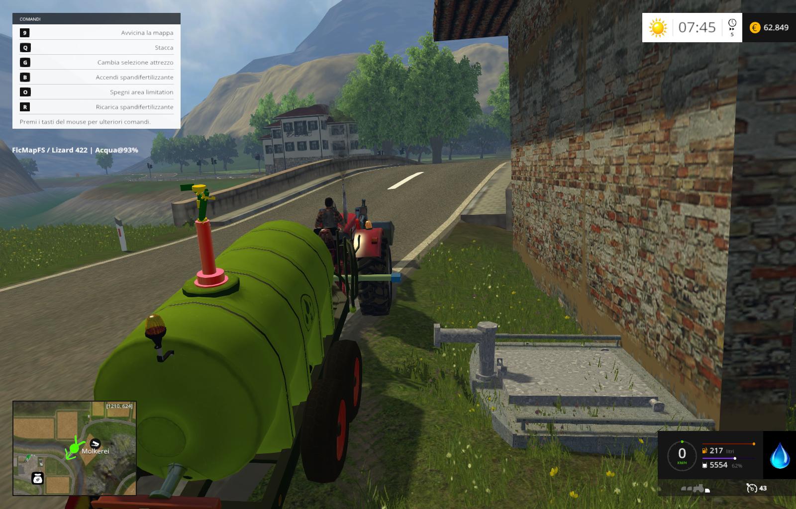 Water_Trailer_Cannone Updates 4 0 Multi Color - Farming simulator
