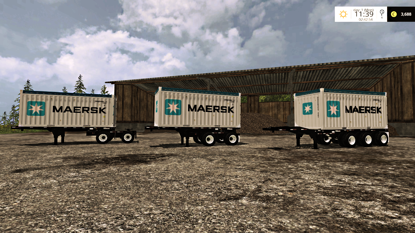 farming simulator 2015 mods truck with Usa Container Pack on Ets2 Scania Streamline Rjl Black Skin Lightbox together with Silverado moreover Usa Container Pack in addition 59972 Big Maps V 21 additionally Nissan Frontier Pro 4x V1 0 Fs17.