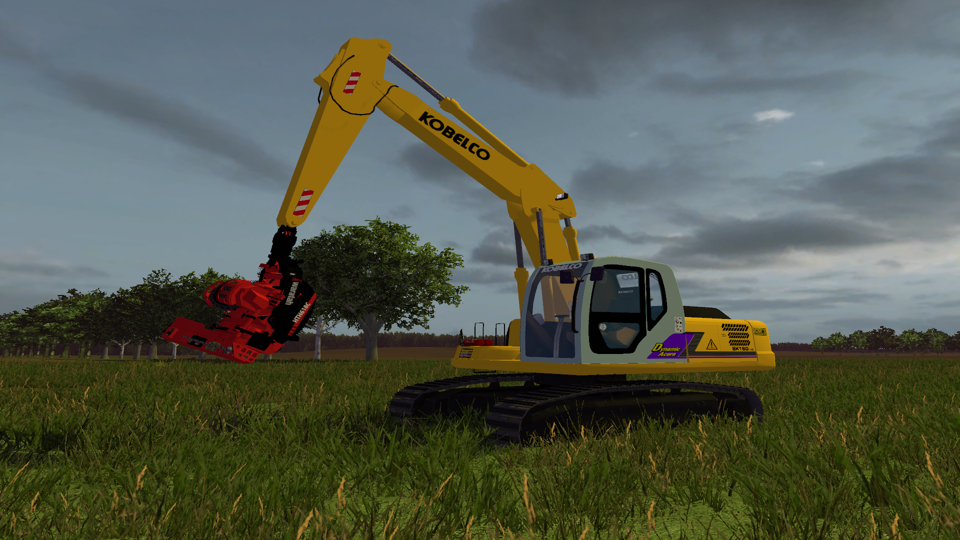 Kobelco SK160 - Farming simulator modification - FarmingMod com