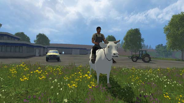 how to get cows on farming simulator 2014