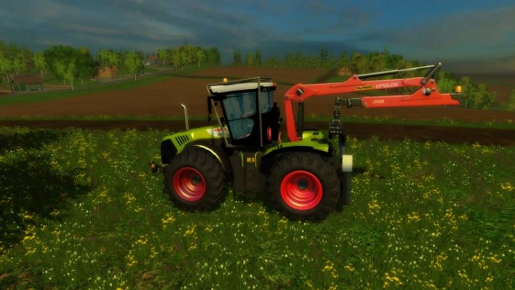 Claas-Xerion-5000-Forest-Edition