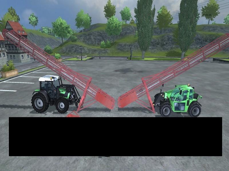Front Loading Conveyor Belt For Wood Chips V 3 2 6 - Farming