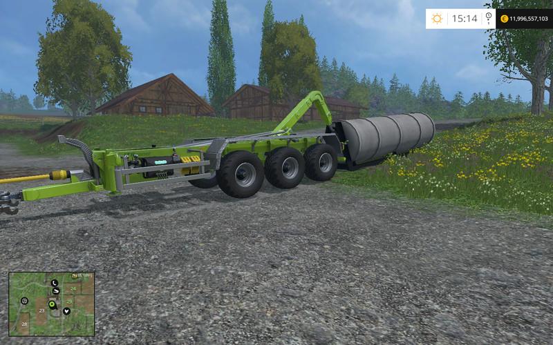 HKL Fuel Tank FSM V 1 0 Beta - Farming simulator modification