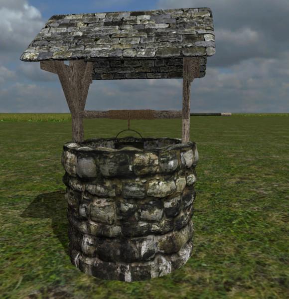 medieval-fountain