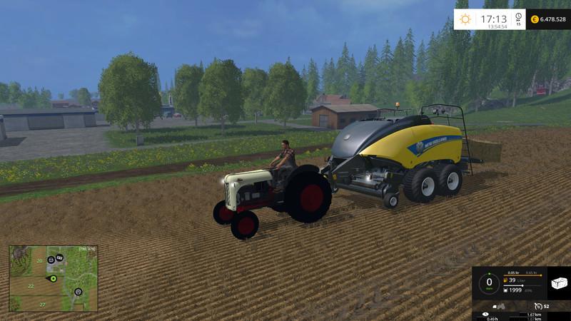Ford 8N Tractor - Farming simulator modification - FarmingMod com
