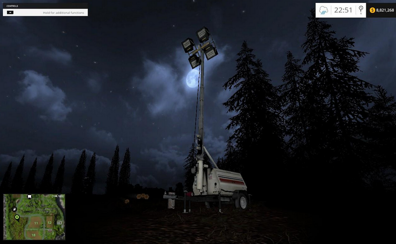Placeable-Floodlight-Generator