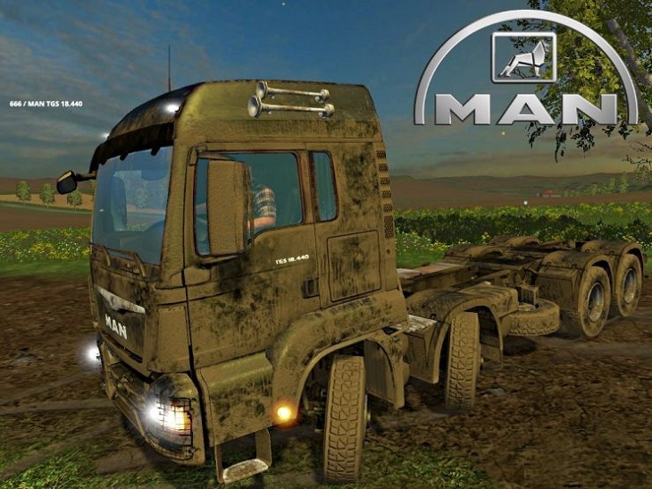 MAN TGS 8×8 V 1 0 - Farming simulator modification