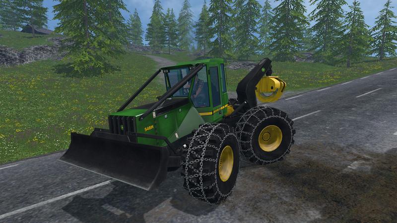 Log skidder games online