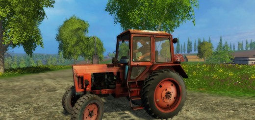 MTZ-Red-80-Tractor-v-1.0