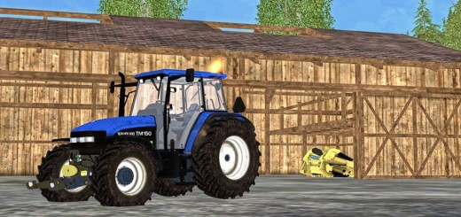 New-Holland-TM150-Tractor