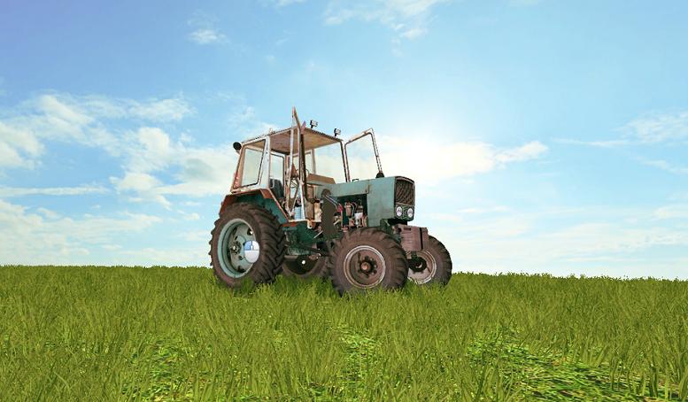 UMZ-16KL-Tractor