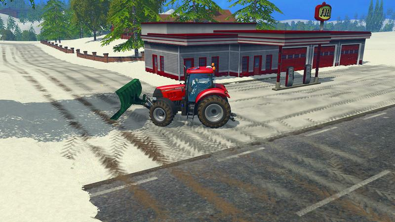 BJORNHOLM PLOWABLE SNOW V1 - Farming simulator modification