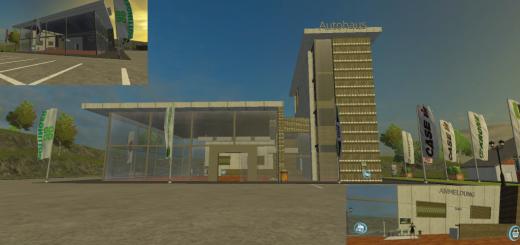 Autohaus-building