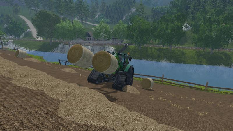 Double Bale Fork V 1 0 - Farming simulator modification