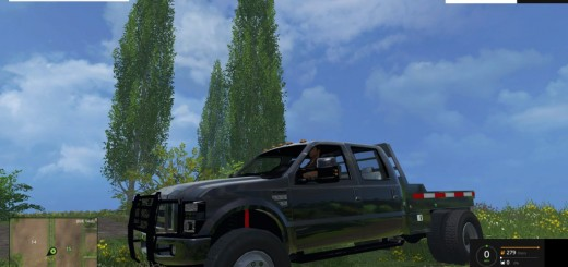 F350-Ford-Diesel-Street-Dually-no-Stacks-Black-for-FS-15-1024×576