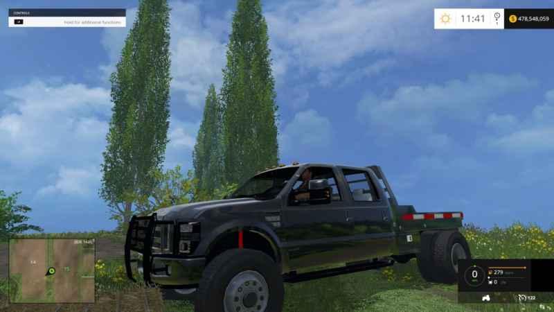 F350-Ford-Diesel-Street-Dually-no-Stacks-Black-for-FS-15-1024x576