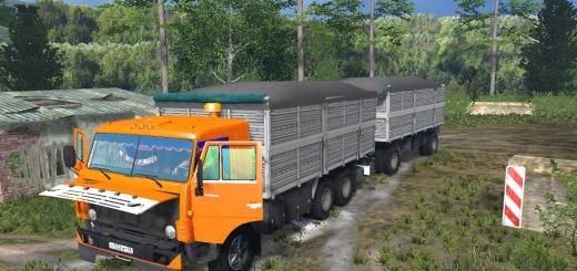 KamAZ-53212-Truck-Yellow-and-Trailer-GKB-v-2.0