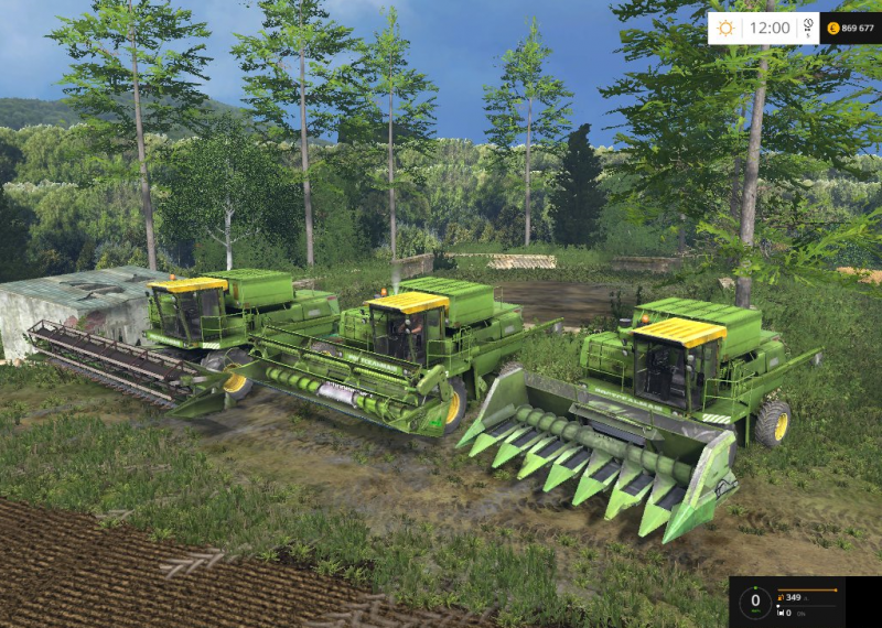 Don-1500A4-Green-Combine-v-2.0