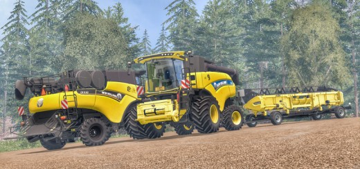 New-Holland-CR9.90-Yellow-Combine-V-1-2