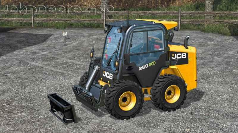 JCB SKID STEER ADAPTER - Farming simulator modification