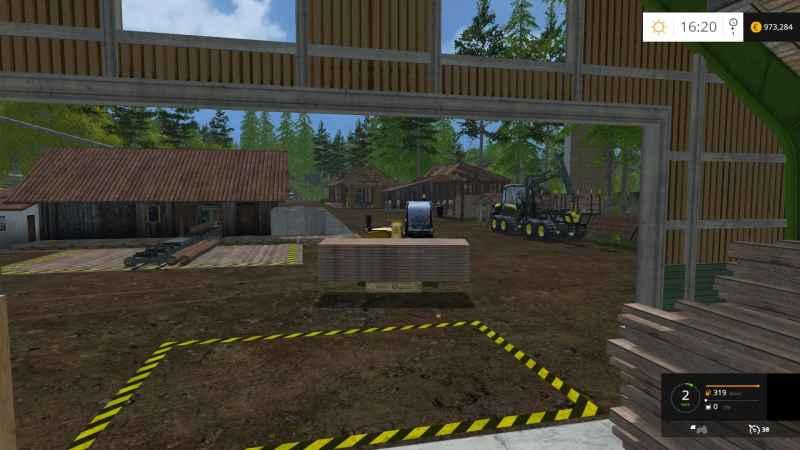 farm simulator 15 how to change wood pallet worth