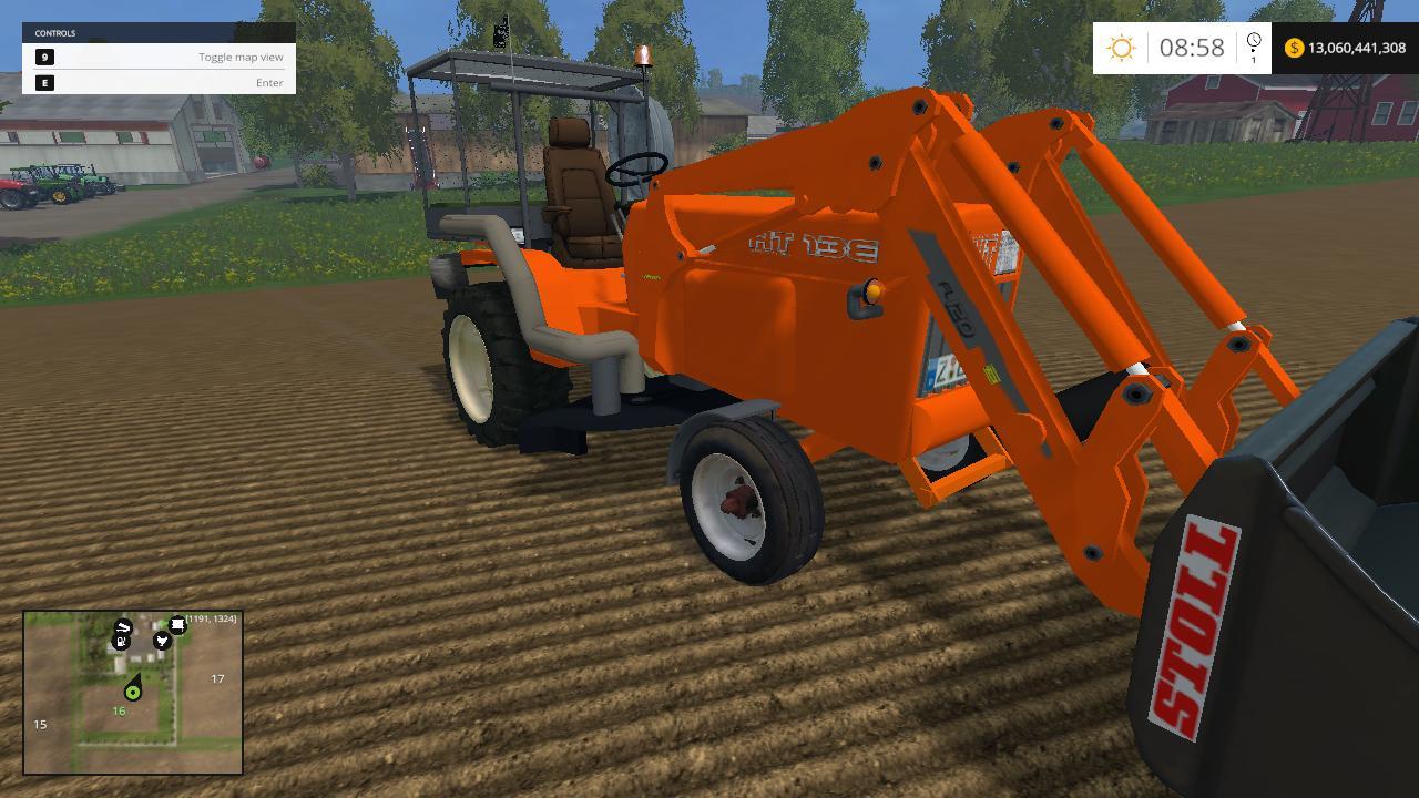 Kubota Tractor v 4.0 - Farming simulator modification - FarmingMod.com