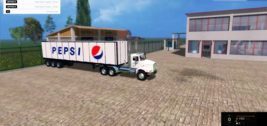 Western-Star-4900-with-Great-Dayne-Trailers-Pepsi-Edition-White-Truck