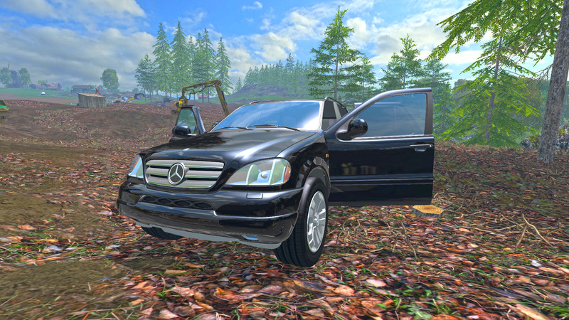 Mercedes benz ml430 car v 1 0 farming simulator for 99 mercedes benz ml430