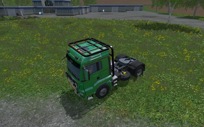 man-holztransport