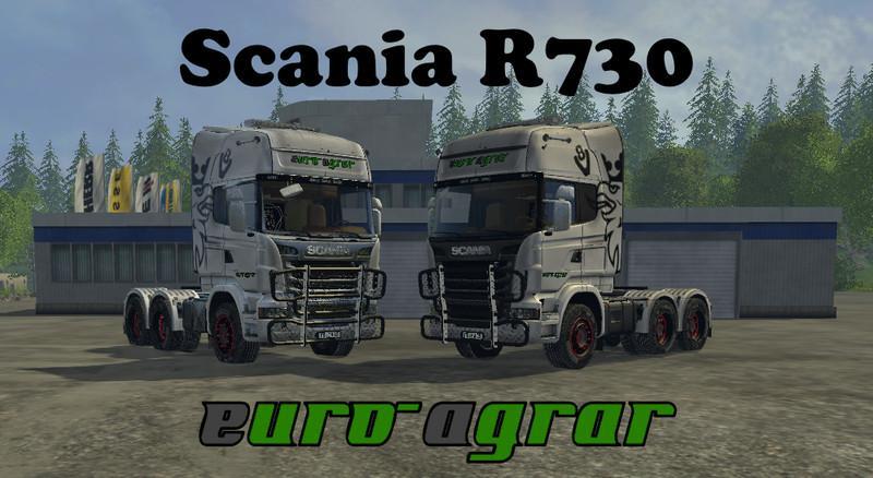 SCANIA R730 EURO AGRAR TRUCK V 0 9 BETA - Farming simulator
