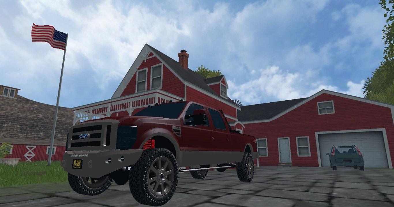 ford f 250 king ranch farming simulator modification. Black Bedroom Furniture Sets. Home Design Ideas