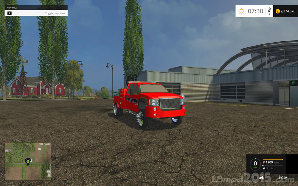 GMC Wielding Rig Truck v4 - Farming simulator modification ...