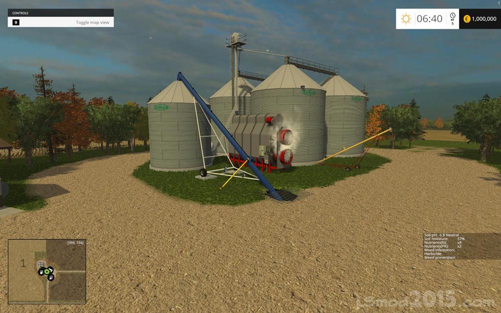 Small Town America Map Farming simulator modification