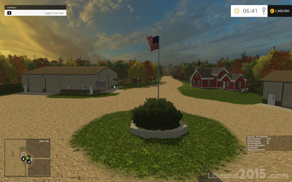 Farming Simulator 17 American Map.Small Town America Map Farming Simulator Modification Farmingmod Com
