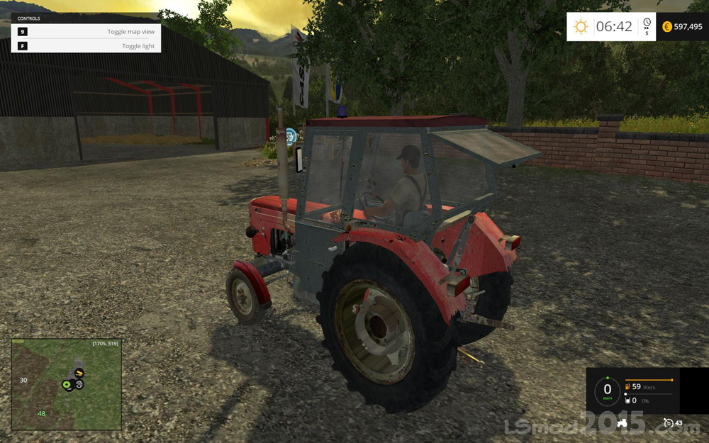 Ursus c-360 3p by FOXQ360 - Farming simulator modification - FarmingMod.com
