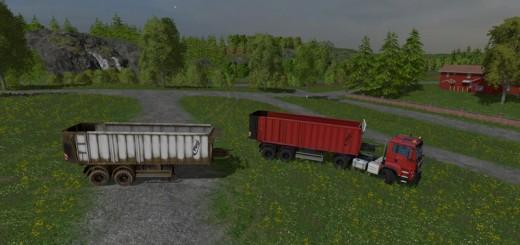 fliegl-tandem-trailer