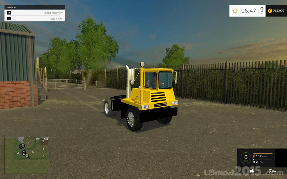 Shunter Truck v1 0 - Farming simulator modification