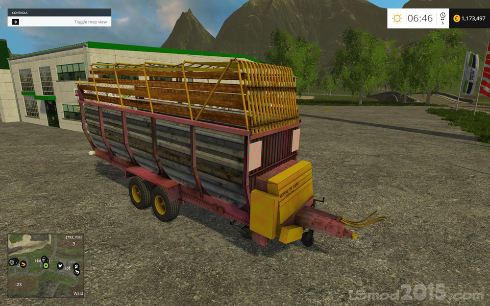 HORAL MV 3 030 TRAILER - Farming simulator modification - FarmingMod com