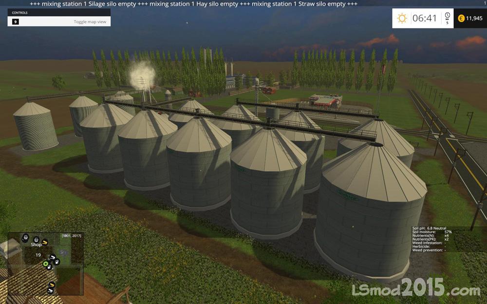 Скачать Карту Baxley Для Farming Simulator 2015 - фото 2