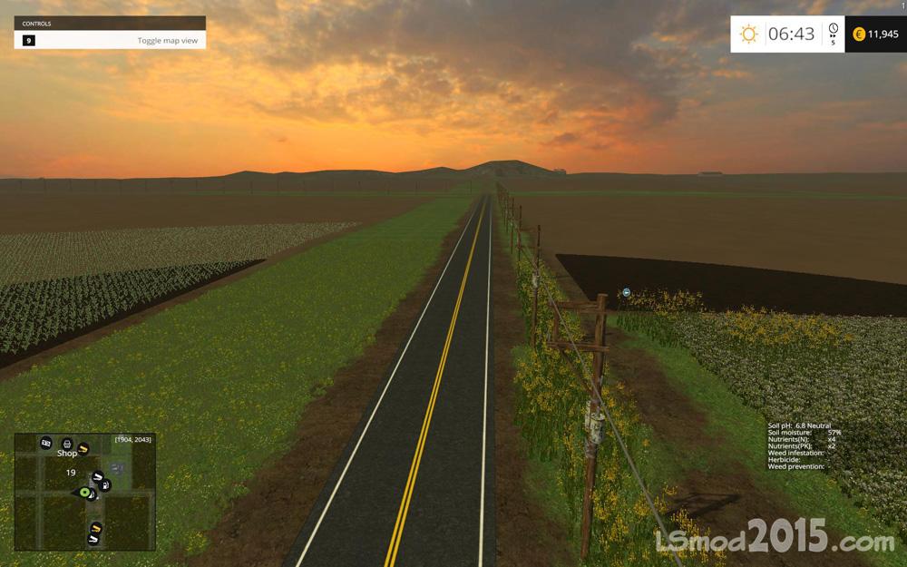 Скачать Карту Baxley Для Farming Simulator 2015 - фото 4