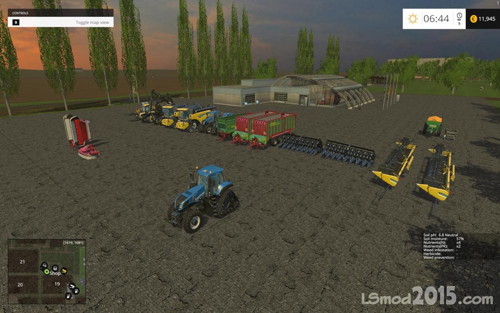 Скачать Карту Baxley Для Farming Simulator 2015 - фото 5