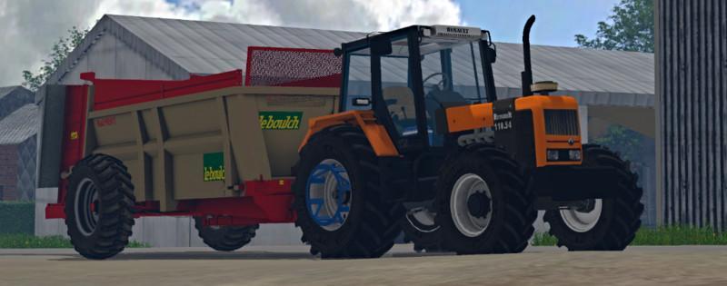 renault 110 54 v1 0 farming simulator modification. Black Bedroom Furniture Sets. Home Design Ideas