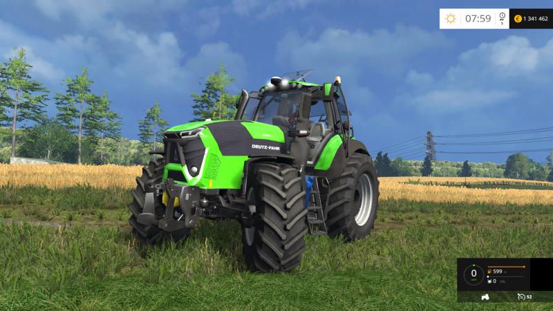 Seat Skins For Trucks >> Deutz Fahr 9340 v1.1 - Farming simulator modification - FarmingMod.com