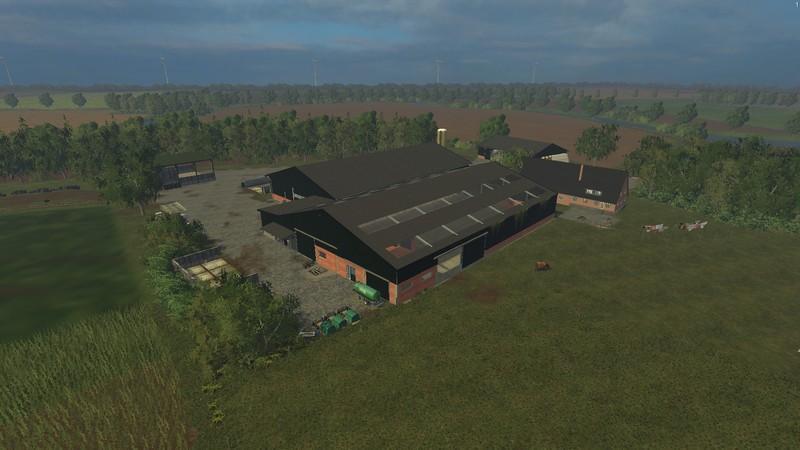 TUNXDORF MAP V Farming Simulator Modification FarmingModcom - Farming simulator 2015 us map feed cows