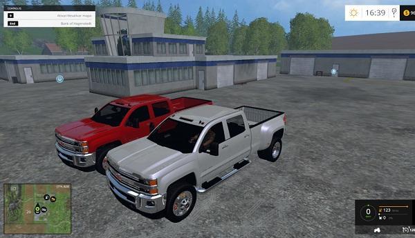Pack silverado 2015 cars farming simulator modification for Car paint simulator